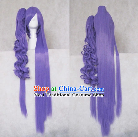 Traditional Chinese Cosplay Long Wig Chinese Ancient Costume Wigs