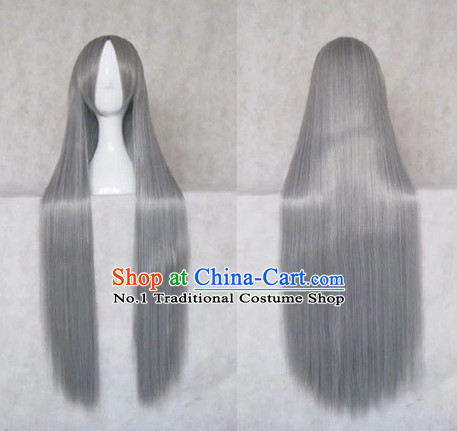 Traditional Chinese Cosplay Wigs Chinese Ancient Costume Long Wig