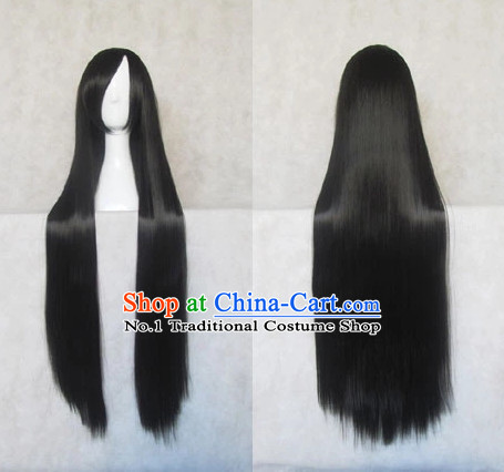 Asian Style Chinese Cosplay Traditional Wig China Ancient Costumes Wig