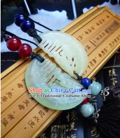 Chinese Traditional Female Handmade Couple Necklace