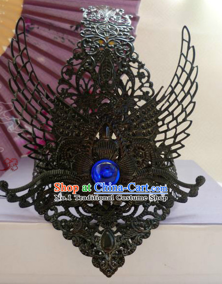 Chinese Traditional Female Handmade Coronet