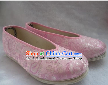 Chinese Traditional Fabric Hanfu Shoes