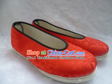 Chinese Classical Fabric Hanfu Shoes