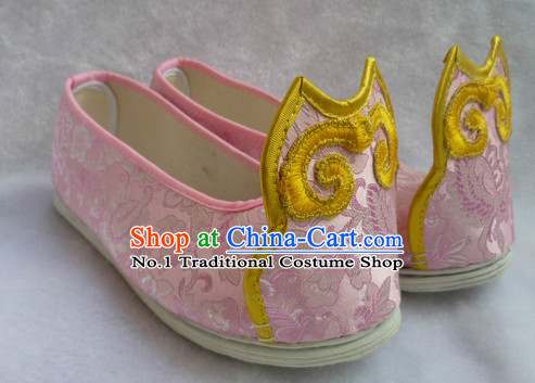 Chinese Traditional Clothes Fabric Shoes