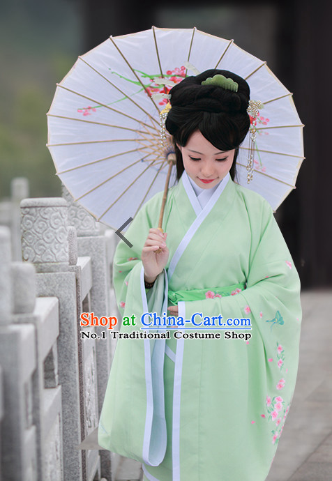 Chinese Ancient Hanfu Clothing Complete Set for Women
