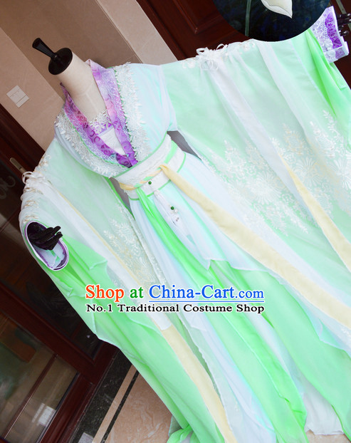 Chinese Traditional Princess Suit Complete Set
