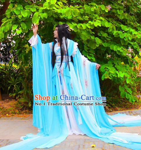 Chinese Traditinoal Princess Dresses Complete Set