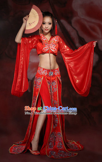 China Wedding Clothing Wholesale Costumes Mandarin Dress Complete Set
