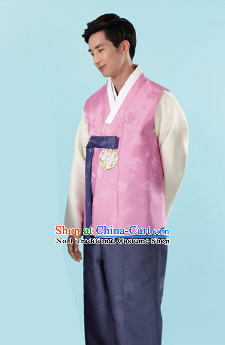 Korean Traditional Mens Wedding Hanbok Suits