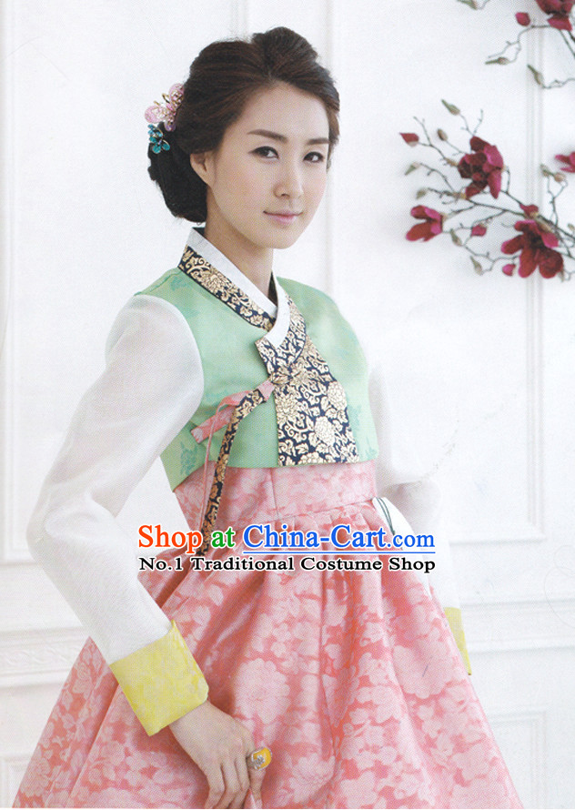 Korean Traditional Dress National Costumes for Women