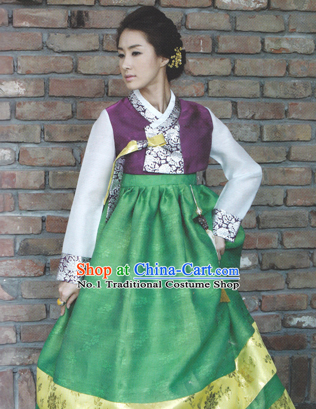 Korean Big Day Hanbok Tradiitonal Dresses for Women