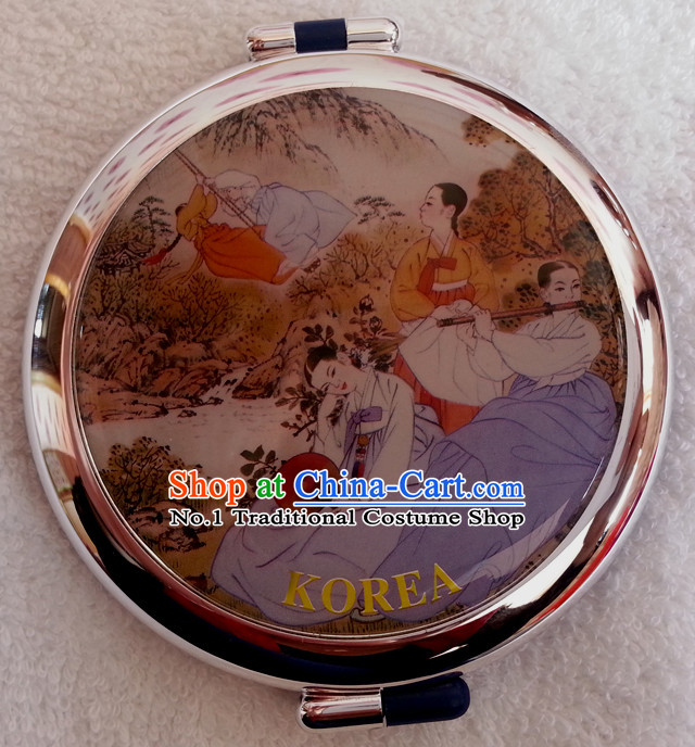 Korean Traditional Female Accessories Makeup Mirror