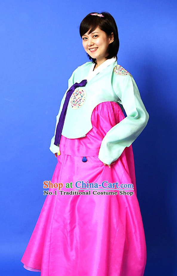 Korean Female National Costume Complete Set