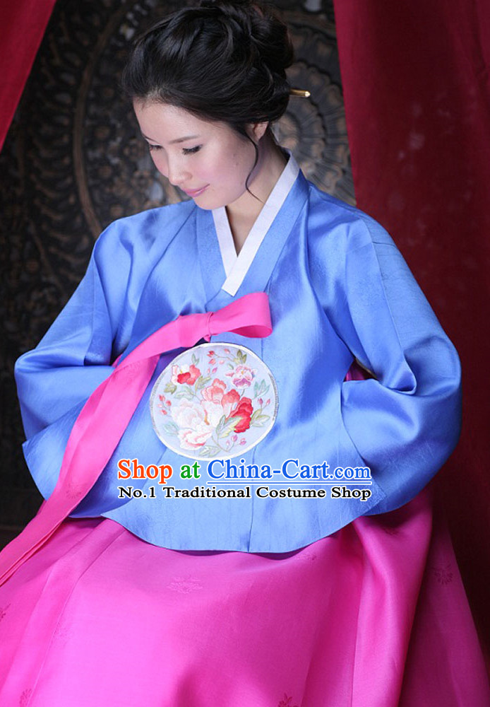 Korean Female National Costumes Complete Set