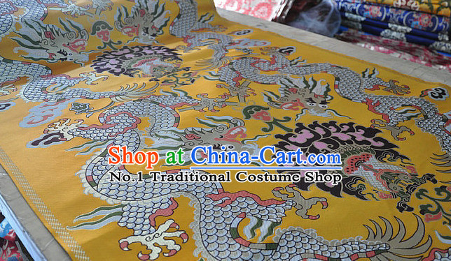 Chinese Traditional Tibetan Style Dragon Brocade