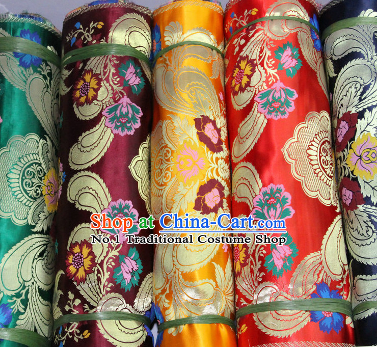 Asian China Traditional Tibetan Brocade Sewing Materials