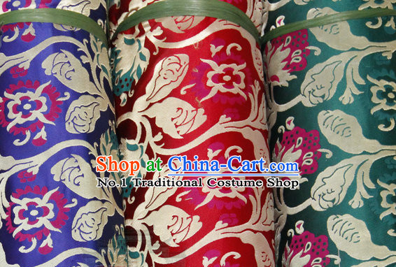 China Tibetan Brocade Embroidered Fabric Upholstery Material Dress Material