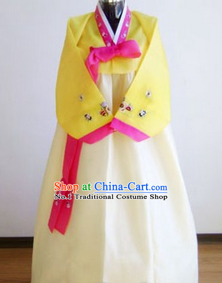 Korean Traditional Dress Female Plus Size Dance Costumes Fashion Clothes Complete Set