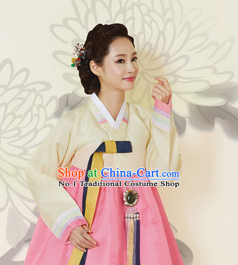 Korean Traditional Costumes Complete Set
