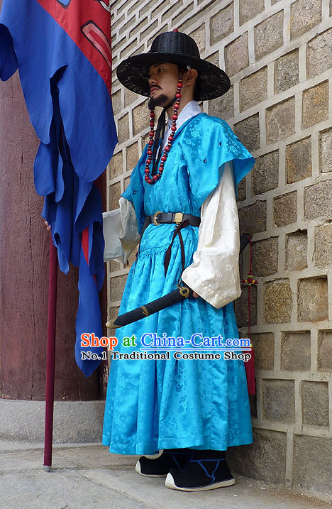 Korean Royal Guard Costumes National Dress Costumes Traditional Costumes Traditional Clothing