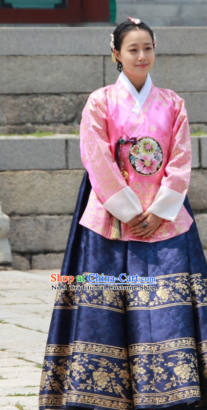 Korean Princess National Dress Costumes Traditional Costumes Traditional Clothing