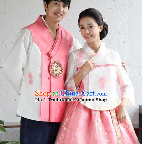 Korean Couple National Dress Costumes Traditional Costumes Traditional Clothing