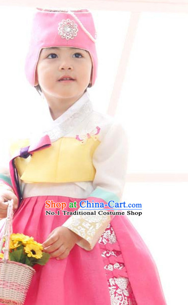 Korean Girls National Costumes Traditional Costumes Korean Fashion Style