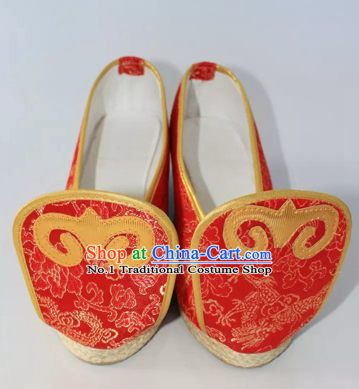Chinese Ancient Female Shoes Comfortable Shoes
