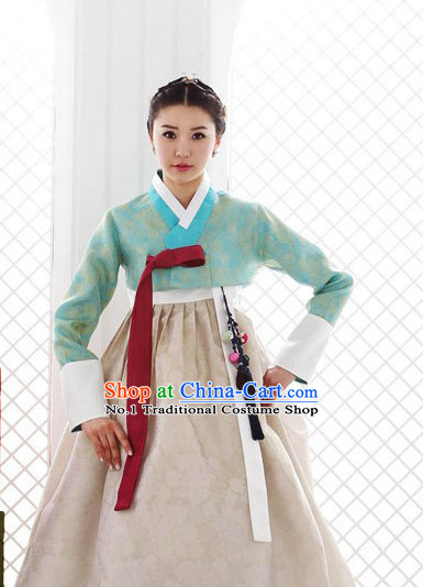 Korean Traditional Ceremonial Outfit Complete Set for Women