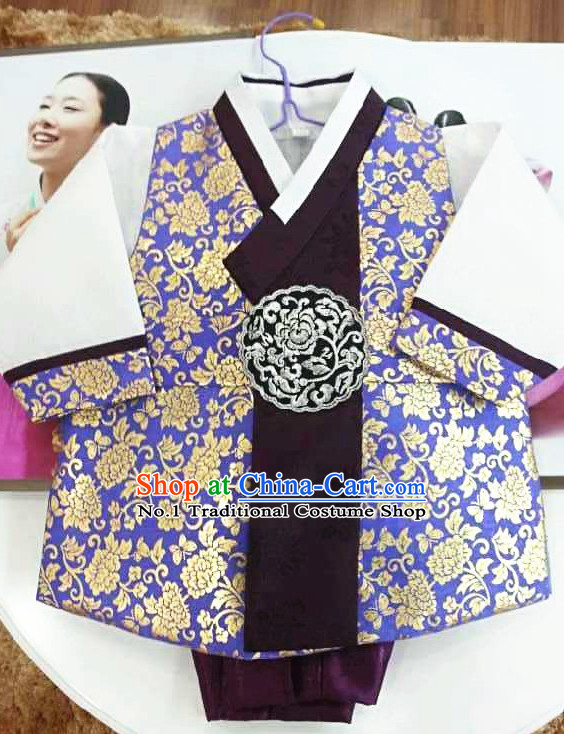 Korean Traditional Dress Complete Set for Boys