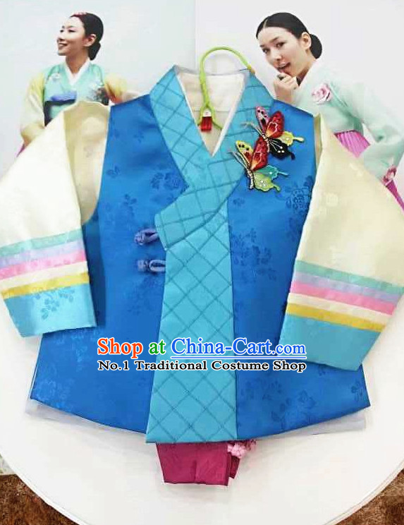 Traditional Korean Kids Clothes Complete Set