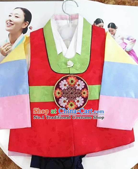 Ashion Fashion Traditional Korean Kids Clothing Complete Set
