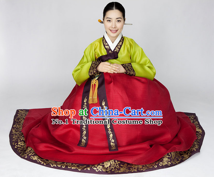 Traditional Korean Fashion Style Mother Suit Complete Set