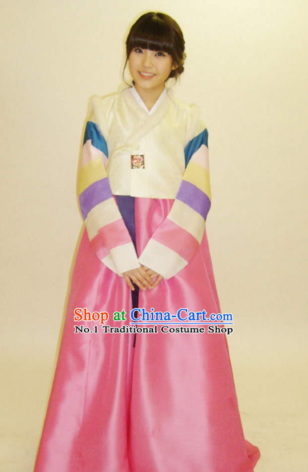 Traditional Korean Clothing for Adults