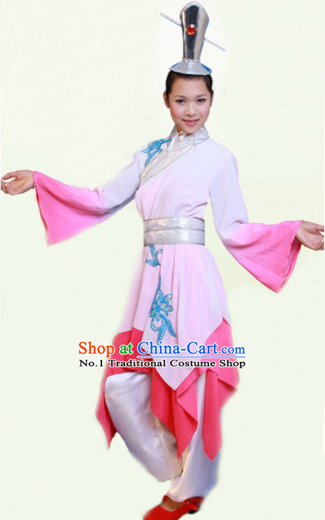 Chinese Hanfu Costumes Dancing Costume Complete Set for Men or Women