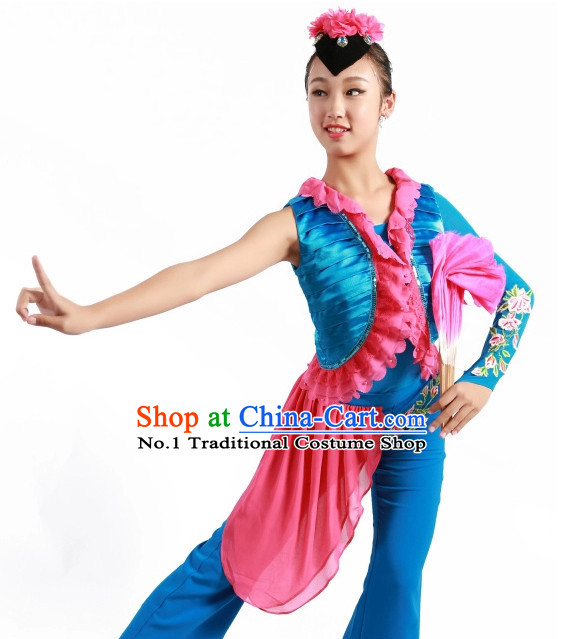 Chinese Fan Costumes Carnival Costumes China Shop  Dance Costumes for Women