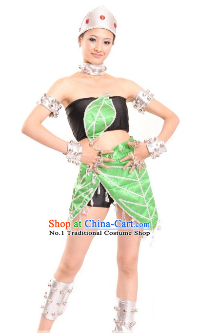 Professional Chinese Stage Dance Costumes Carnival Costumes for Women