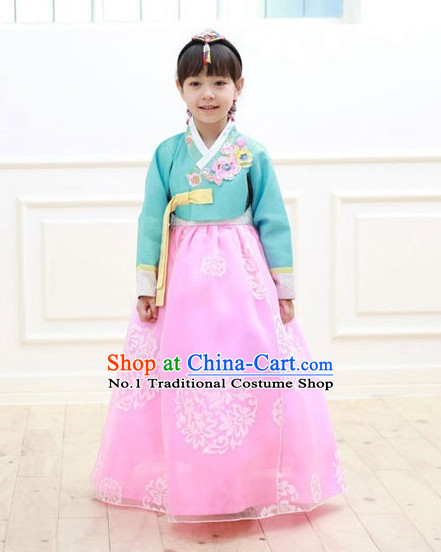 Korean Kids Hanbok Fashion online Apparel Hanbok Costumes