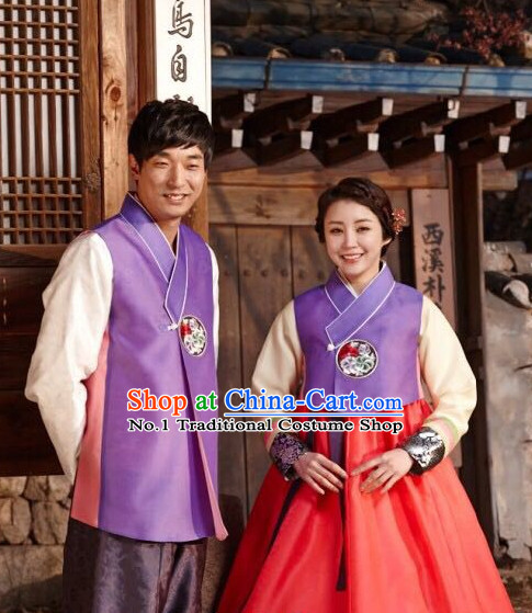 Korean Couple Fashion online Apparel Hanbok Costumes Dresses