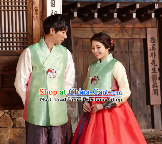 Korean Couple Fashion online Apparel Hanbok Costumes Dress