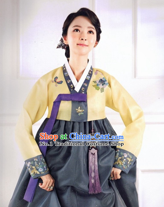 Korean Traditional Clothing Fashion online Hanbok Costumes Dresses for Women