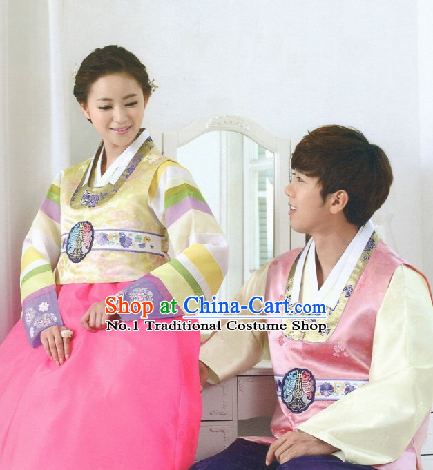 Korean Hanbok Couple Clothing Fashion Clothing Korean Traditional Dresses