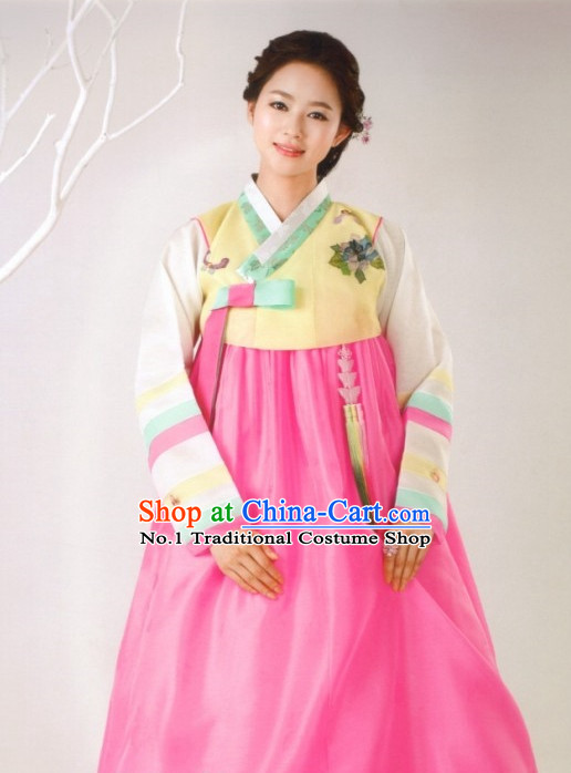 Korean Hanbok Mother Clothing Fashion Clothes Korean Traditional Dresses