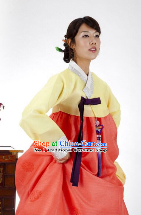 Korean Women National Costumes Traditional Hanbok Clothes online Shopping