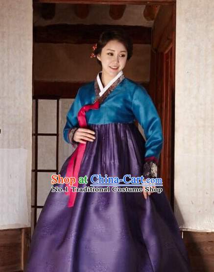 Korean Ladies National Costumes Traditional Hanbok Clothes online Shopping