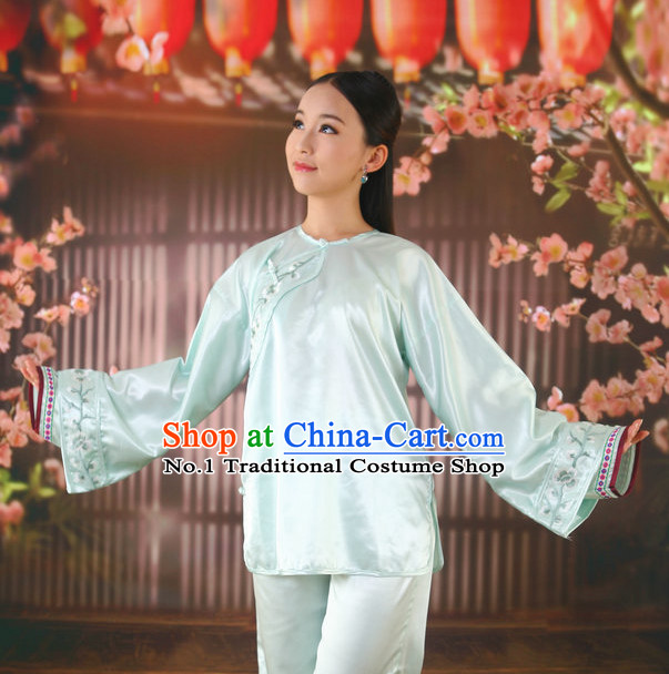Asian Fashion Chinese Qing Mandarin Pajamas for Women