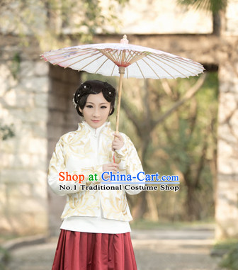 Chinese Traditional National Costumes Mandarin Dress