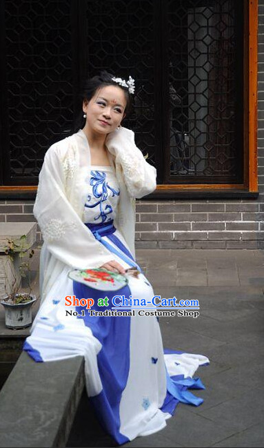 Chinese Traditional Clothing Chinese Ancient Poetess Clothing Free Delivery Worldwide