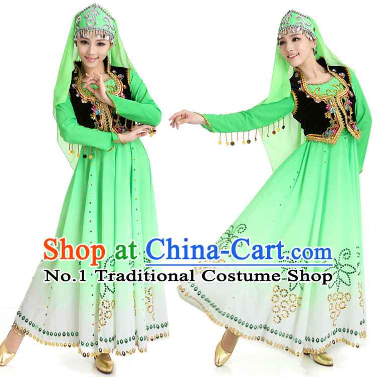 Chinese Traditional Xinjiang Discount Dance Dostumes Discount Dance Supply for Women