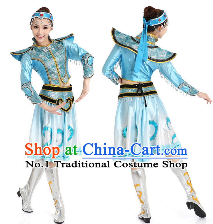 Chinese Traditional Mongolian Discount Dance Dostumes Discount Dance Supply for Women